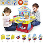 Pretend Play Tool Workbench Building ToysPet Care Play Set For Kids Birth Gift