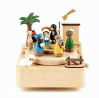 Papyrus Wooden Music Box Nativity Collectible