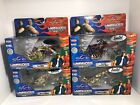 JOY RIDE OCC AMERICAN CHOPPERS LOT OF 4 BIKES LIMITED EDITION 118 SCALE DIECAST