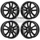 17 DODGE GRAND CARAVAN GLOSS BLACK EXCHANGE WHEELS RIMS FACTORY OEM 2399 200