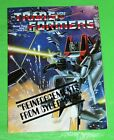 Vintage Transformers Reinforcements from Cybertron Booklet Pamphlet 1984