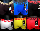 KITE COTTON LYCRA BOXER SHORTS (FITS WAIST 28' TO 36')  ASSORTED COLOR PACK OF 3