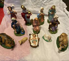 VINTAGE 12 Pieces Nativity SET MADE IN ITALY