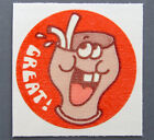 Vintage TREND Matte Scratch and Sniff Stinky Stickers COLA No TM