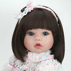 22 Reborn Girl Doll Gift Newborn Baby Dolls Toddler Birth Toys Vinyl Silicone