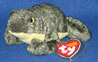 TY PONDER the FROG BEANIE BABY - MINT with MINT TAGS