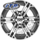 ITP SS212 Wheel 12x7 4/110 Machined w/ Black 2+5 Arctic Cat 700 H1 EFI SE (2009)
