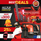 Hilti Te 25 Hammer Drill Your Choice Complete Set Free Watchfast Ship