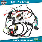 50CC 125CC CDI Wire Harness Stator Assembly Wiring Kit for ATV Electric Quad
