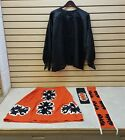 NICE 4 PIECE HAND CRAFTED RIBBONWORK DESIGN NATIVE AMERICAN INDIAN DANCE SET