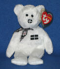Rare TY PIRAN FLAG NOSE the BEAR BEANIE BABY (UK EXCLUSIVE) - MINT with MINT TAG