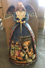 Jim Shore Angel Nativity Gown 4003273 Retired A Star Shall Guide Us