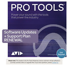 Avid 1 Year Updates + Support Plan RENEWAL for Pro Tools Perpetual License