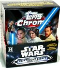 2019 TOPPS STAR WARS CHROME LEGACY HOBBY 8 BOX CASE