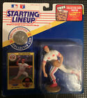 1991  JACK ARMSTRONG Starting Lineup Sports Figure CINCINNATI REDS Card Coin