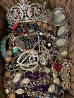 Lot of Costume Jewelry UNSEARCHED UNTESTED Vintage to Modern Grab Bag Box
