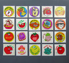 Vintage TREND Glossy Scratch and Sniff Stickers Lot A 20 Stickers