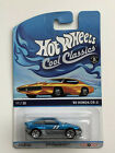 HOT WHEELS 85 HONDA CR-X CRX SPECTRAFROST BLUE 1985 2014 COOL CLASSICS 1:64 1/64