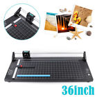 36 Inch High Precision Rotary Paper Trimmer Sharp Photo Paper Cutter USA Stock