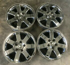 18 Jeep Commander Chrome Alloy Wheel OEM Rim Grand Cherokee RARE SET