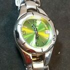 Relic by Fossil Glitz Date Women's Watch Green to Blue Dial ~ NEW BATTERY