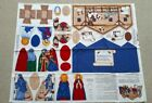 Keepsake Crafts Nativity Scene Manger Fabric Panel by Cranston 100 Cotton