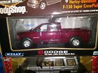 Welly Dodge truck ram 1 18 SCALE DIECAST model truck maroon NEW in box