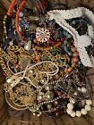 4 LBS Lot of Costume Jewelry UNSEARCHED UNTESTED Vintage to Modern