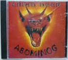 Uriah Heep - Abominog / 1986 Castle Communications / Ltd Edition Gold Toned CD