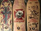Tony Hawk Lance Mountain Tommy Guerrero reissued Powell Peralta Skate Deck Combo