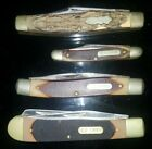 Lot of 4 Old Timer Pocket Knives Vintage