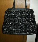 Clever Carriage Handcrafted Leather Rose Satchel EUC GORGEOUS