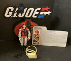 1987 V1 GI Joe CRAZYLEGS Assault Trooper with File Card