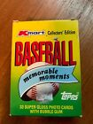 Topps Kmart 1988 baseball card set