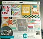 12x12 Pocket Pages Inspiration Scrapbook Kit Makes Cards Stickers Page Protector