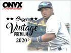 2020 ONYX VINTAGE PREMIUM COLLECTION BASEBALL 24 BOX CASE
