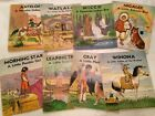 Lot of 8 antique Children Books 1930s Platt  Munk Native American Indian Series