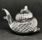 Marcolin Swedish Crystal Snail Paperweight EK