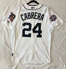 Authentic Majestic 52 2XL, DETROIT TIGERS HOME MIGUEL CABRERA, COOL BASE Jersey