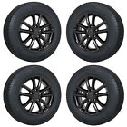 17 DODGE GRAND CARAVAN JOURNEY BLACK WHEELS RIMS TIRES FACTORY OEM SET 4 2399