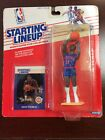 1988 Kenner Starting Lineup NBA Isiah Thomas Pistons with collector card