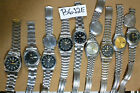 9pc SEIKO 5  Automatic w Band 6309 7S26 7s36 Good/nice Dial Parts Watch RUN AsIs