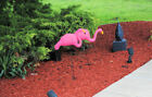 Lot of 6 Extra Large Pink Flamingos Lawn Yard Ornament 3 Dimensional Ornaments