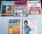Fitness Books Womens Bodybuilding Diet Exercise Lot of 5 Biggest Loser Peeke