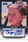 2012 Topps Star Wars Galactic Files Autographs Guide 36