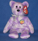 TY CLUBBY 8 VIII  the BEAR BEANIE BABY - MINT with MINT TAGS