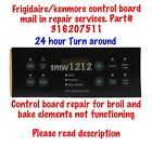 SAME Day Repair Service for Control Board  316207511 Kenmore Frigidaire Stoves