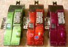 Vintage 1970s Mattel Redline Hot Wheels Lot 3x SIDE KICK Green Red Magenta