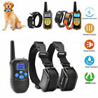 Anti Bark Dog Training Device Collar Stop Barking Rechargeable Remote
