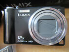 Panasonic LUMIX DMC-TZ7 10.1MP Digital Camera - Black-EXCELLENT CONDITION